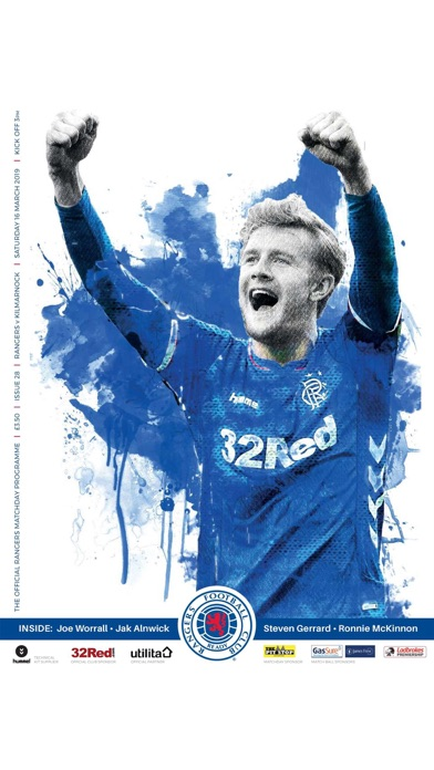 Rangers FC Digital Programme screenshot four