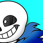 animated sans stickers