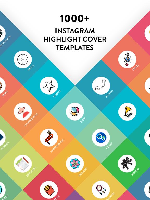 Highlight Story Cover Maker!-ipad-0