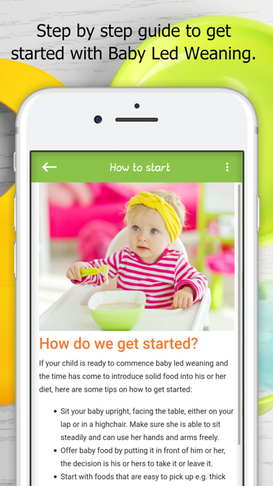 Baby Led Weaning Guide RecipesScreenshot of 8