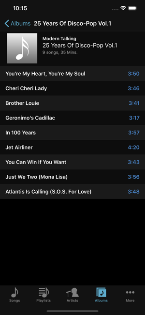 ‎FLAC Player+ Screenshot