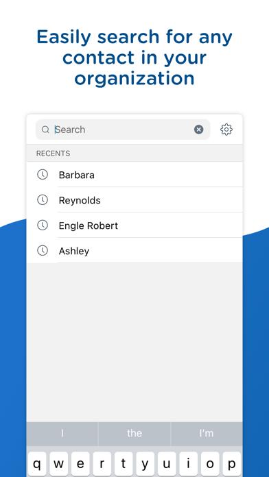 Screenshot of People - Workspace ONE7