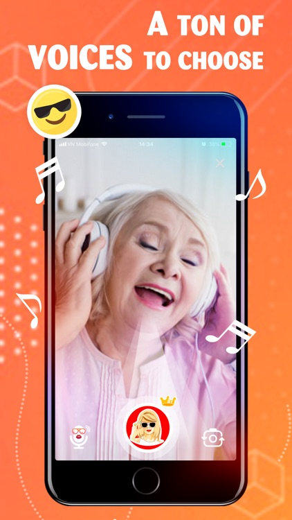 Celebrity Voice Changer + App screenshot-5