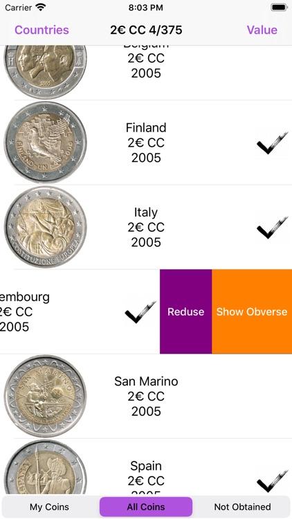 Euro Coins screenshot-4