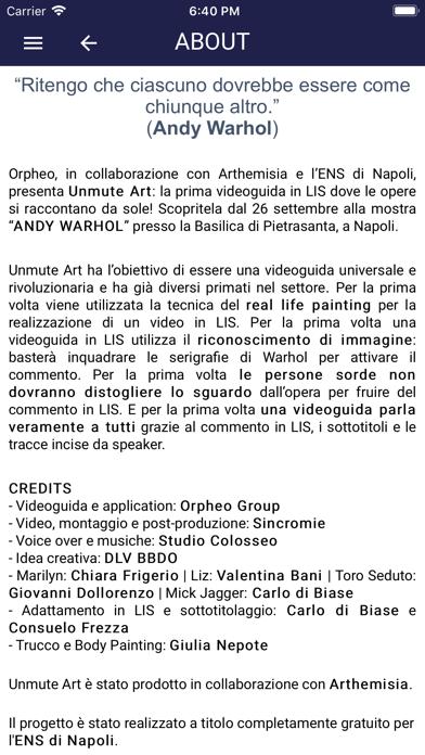 Unmute Art screenshot 3
