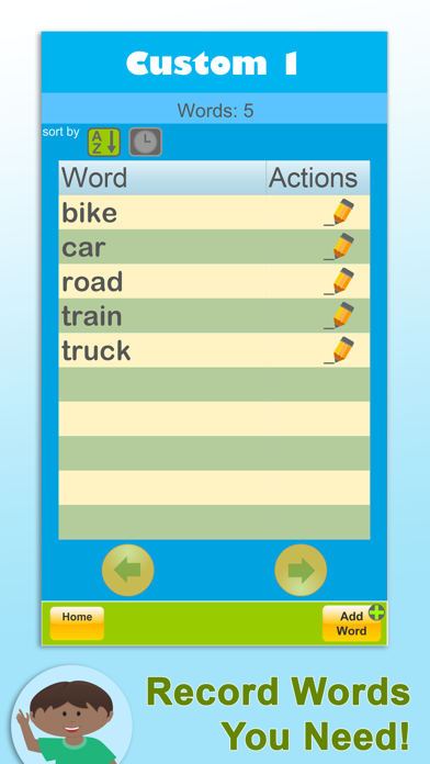 Sight Words: Dolch Coach Screenshots