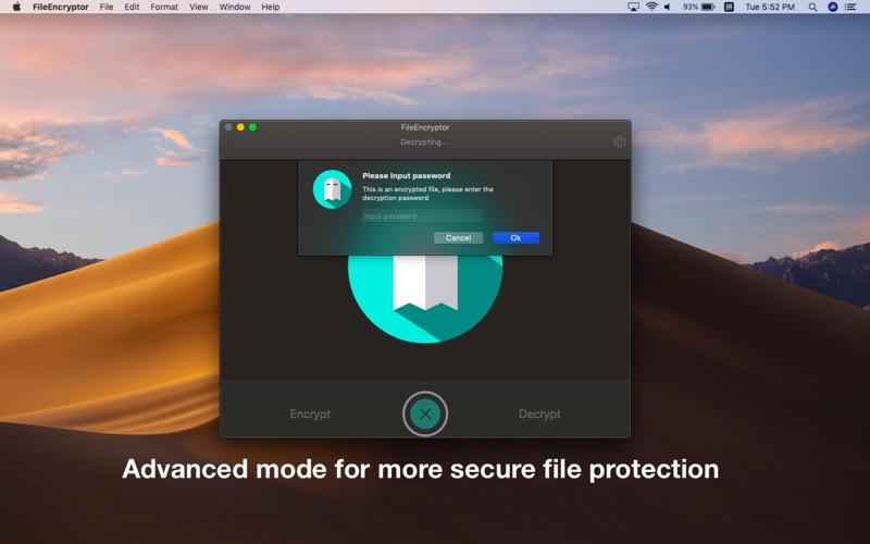 FileEncryptor Screenshot