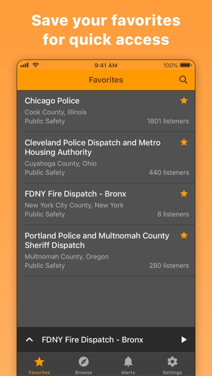 Scanner Radio: Police & Fire screenshot-3