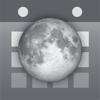 シンプル月齢カレンダー