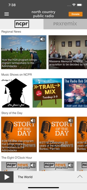 NCPR Public Radio App on the App Store