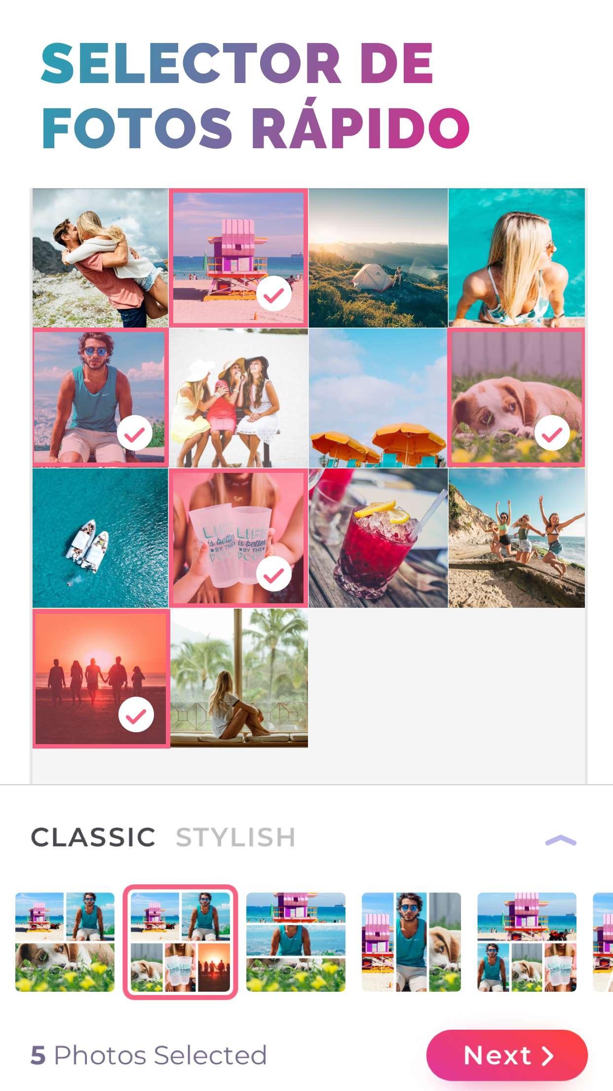 Pic Jointer - Collage fotos Screenshot