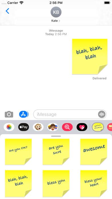 yellow stickies screenshot 3