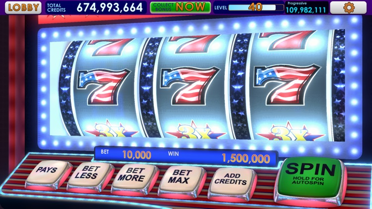 Triple 7 Deluxe Classic Slots screenshot-5