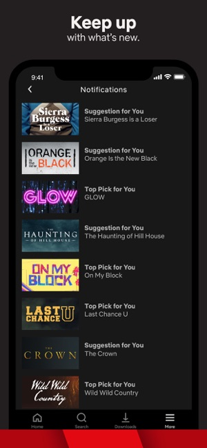 ccc9a079a3 Netflix on the App Store