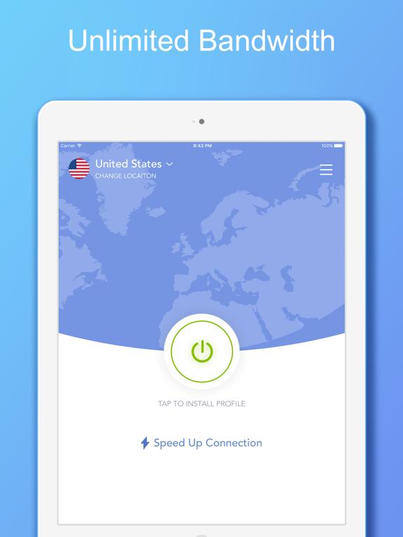 VPN 360 - Unlimited VPN Proxyのおすすめ画像1