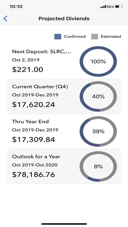 Divtracker Dividend Tracker screenshot-4