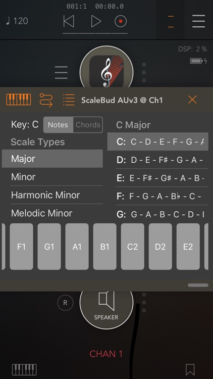 ScaleBud - AUv3 MIDI Keyboard screenshot-4