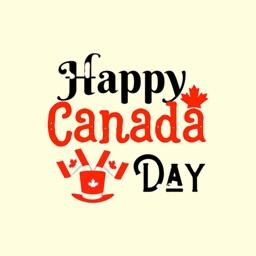 Happy Canada Day Stickers !