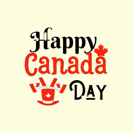 Happy Canada Day Stickers ! icon