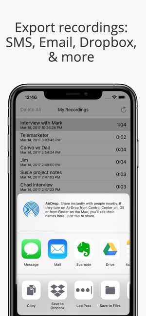 Call Recorder Lite for iPhone on the App Store
