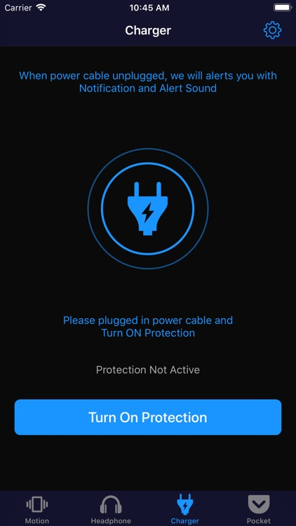 SecurePhone - anti-theft alarm