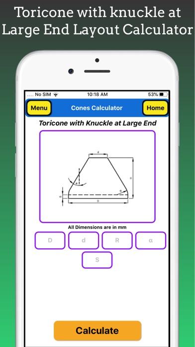 Cones Calculator screenshot 9