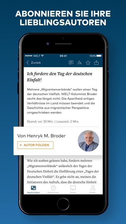 WELT News – Nachrichten live screenshot-6