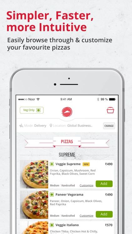 Pizza Hut India–Pizza Delivery