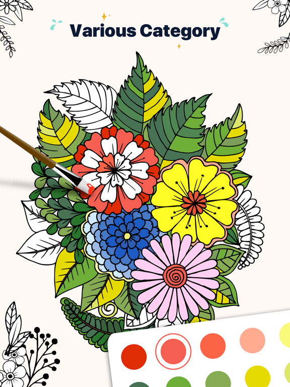 Star Coloring Pages by Number screenshot 7