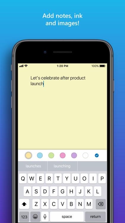Microsoft Whiteboard screenshot-4