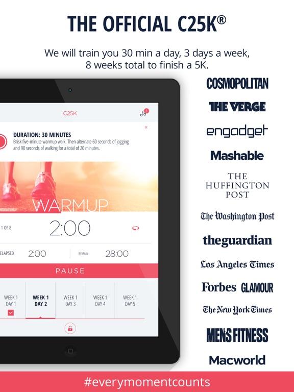 C25K® 5K Trainer Pro Screenshots