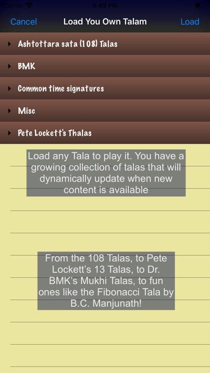 Talanome - Carnatic Metronome screenshot-7