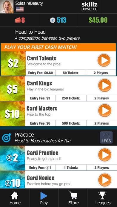 5-Card Solitaire: Match Cards screenshot 3