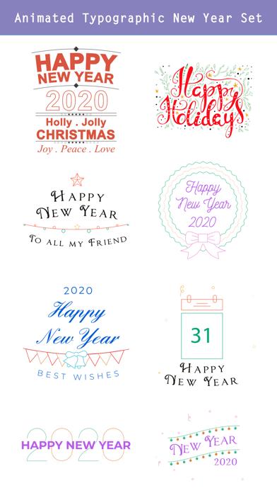 Happy New Year 2020 - Animated screenshot three