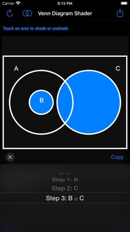 Venn Diagram Shader screenshot-6
