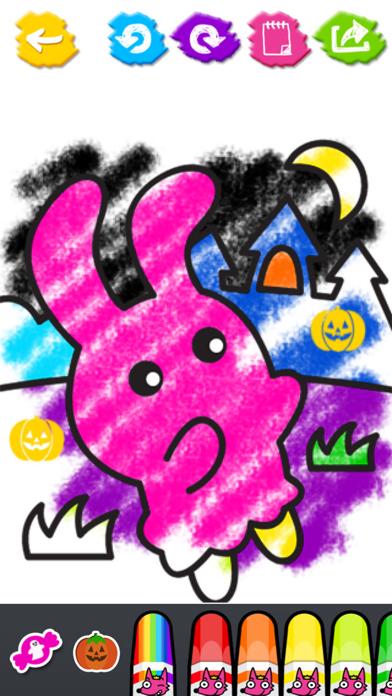 フォン!モンスターぬりえ:ハロウィンのおすすめ画像4