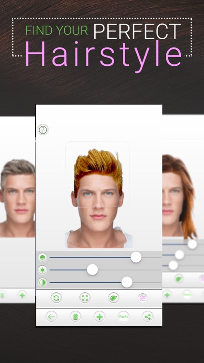Your Perfect Hairstyle for Men screenshot-3