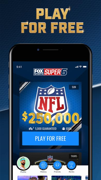 FOX Sports Super 6 screenshot 2