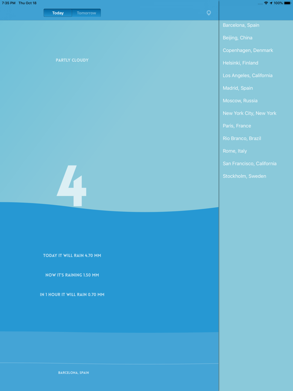 Pluviometer - Rain gauge Screenshots