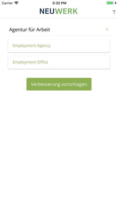 NEUWERK Arbeitsrecht screenshot three