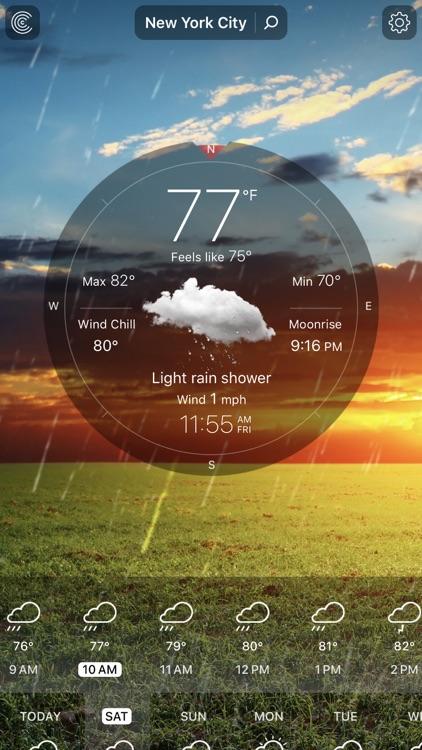 Weather Live - Local Forecast screenshot-0