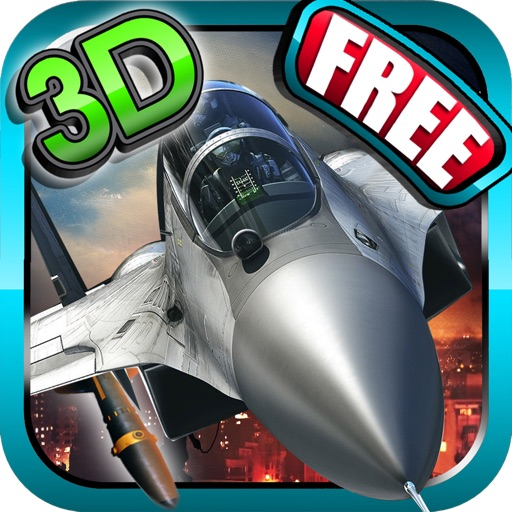 Fighter jet 3D Tactical attack : Chaos Dog-fights over the sea coast line iOS App