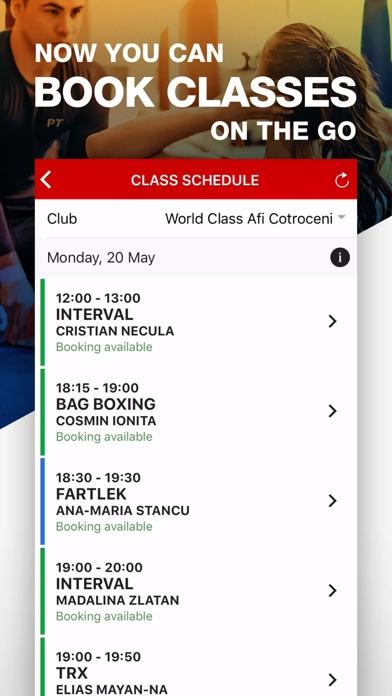 World Class Romania screenshot two