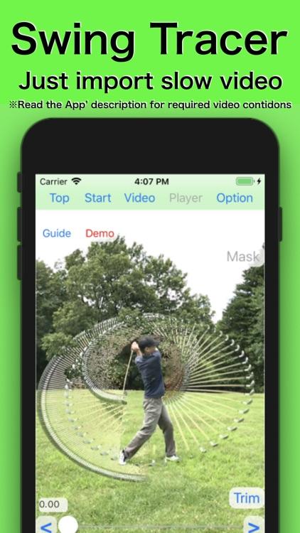 Golf Swing Shot Tracer screenshot-0