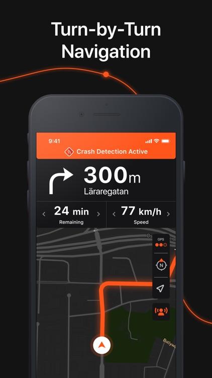 Detecht - Motorcycle App & GPS screenshot-4