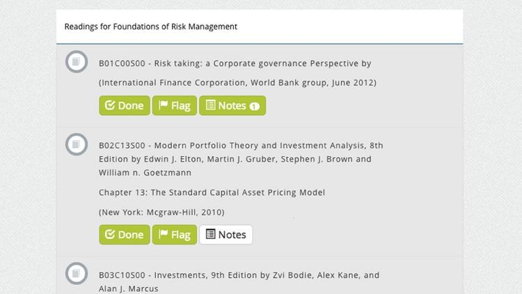 GARP Study Center by Global Association of Risk Professionals