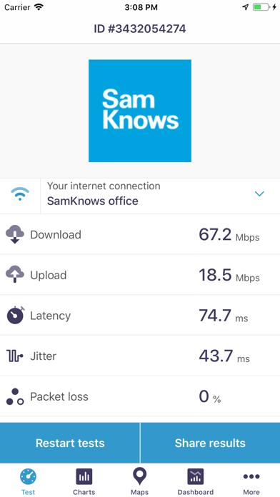 SamKnows - Test Your Internet screenshot two