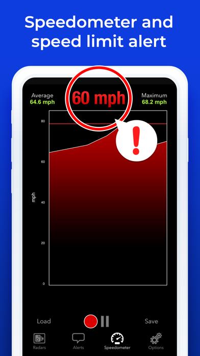 Screenshot for Radarbot: Speedcam Detector in New Zealand App Store