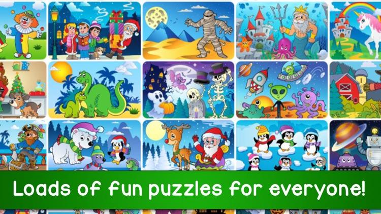 Super Puzzle Kids Jigsaw Game screenshot-5