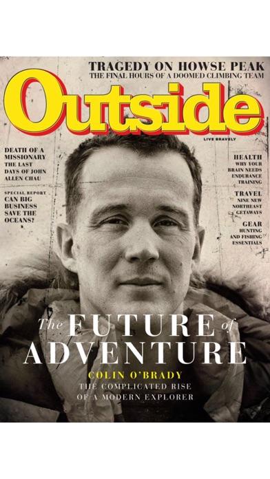 Outside+ Magazine screenshot one